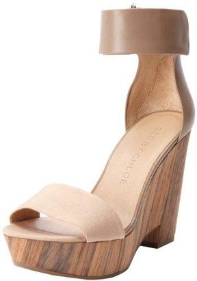 See by Chloe Women's Ankle Strap Open-Toe Platform Wedge Sandal