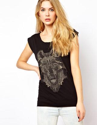 Vila Wolf T-Shirt