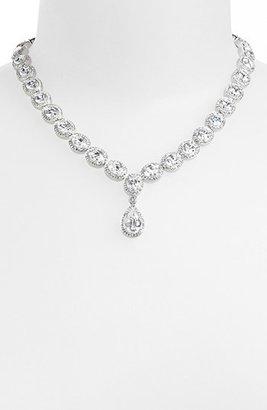 Nadri Women's Cubic Zirconia & Crystal Pear Drop Necklace