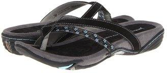 Jambu Capetown (Black Nubuck/Satin Webbing) - Footwear
