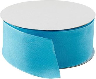 Container Store Ribbon Wired Rhapsody Turquoise
