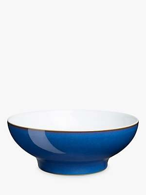 Denby Imperial Blue Serving Bowl, Medium, 23.5cm
