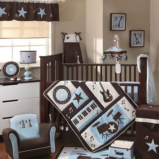 Lambs & Ivy rock 'n roll bedding coordinates