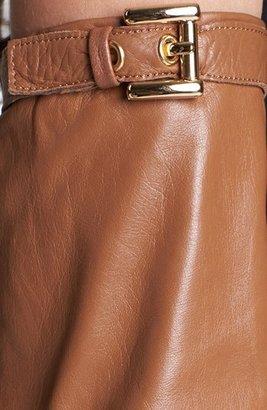 MICHAEL Michael Kors Long Leather Gloves
