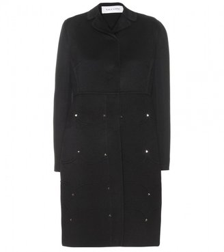 Valentino WOOL COAT WITH STUDS