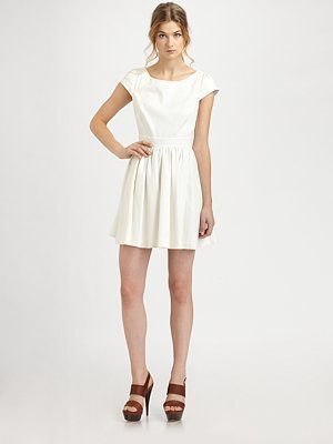 Rachel Zoe Lydia Open-Back Dress