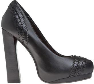 Max Studio Alisa - Leather High Heel Pumps