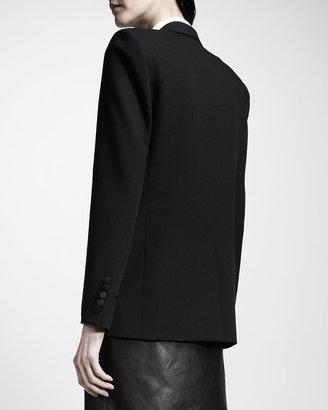 Saint Laurent Cutaway Tuxedo Blazer