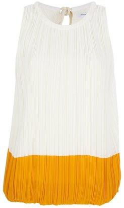 Sonia Rykiel Sonia By pleated colour block top