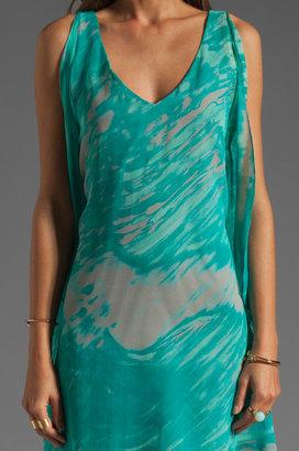 Jay Godfrey Brin Kimono Dress