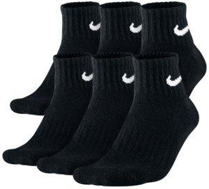 Nike Men's Cotton Quarter Socks 6-Pack