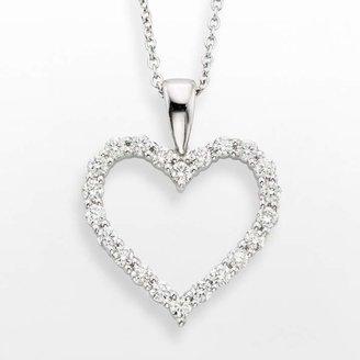 3787795980254 Love Diamond Heart Necklace - ShopStyle