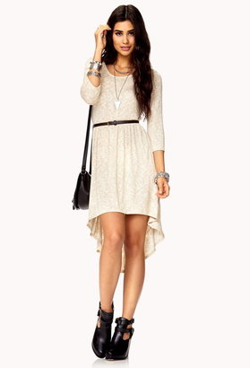 Forever 21 Easy High-Low Dress w/ Belt