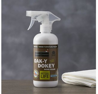 Crate & Barrel Better Life Oak-y-Dokey Wood Cleaner