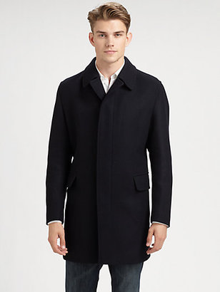 Sanyo Columbus Rain Wool Coat