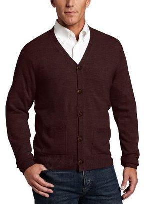 Geoffrey Beene Men's Fancy Cardigan Sweater