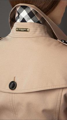 Burberry Cotton Gabardine Trench Jacket