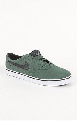 Nike Vulc Rod Green Suede Shoes