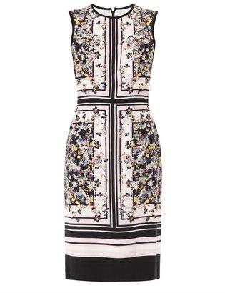 Erdem Eames Garden-print Tali dress