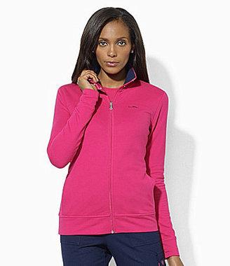 Lauren Ralph Lauren Lauren Active Full-Zip Mockneck Jacket