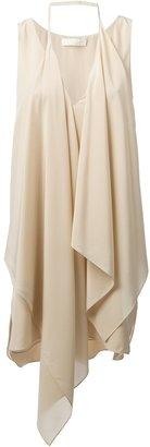 Chloé draped sleeveless blouse