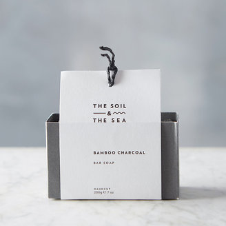 The Soil & The Sea Bamboo Charcoal Soap