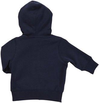 Carter's Fleece Hoodie - Navy Rookie- 6 Months