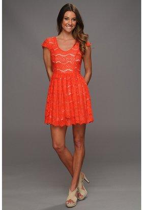 Kensie Dress KS3K9011 (Terracotta) - Apparel