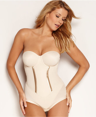 Maidenform Firm Control Bodybriefer Easy Up Strapless Body Shaper 1256 $64 thestylecure.com