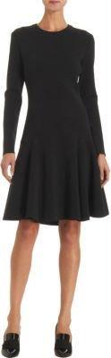 Lanvin Long Sleeve Knit Dress