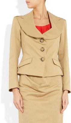 Vivienne Westwood Noble stretch-cotton jacket