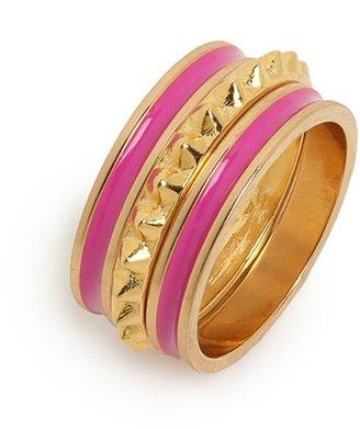 BaubleBar Pink Michelle Ring