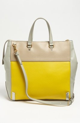 Marc by Marc Jacobs 'Sheltered Island' Colorblock Leather Tote, Extra Large