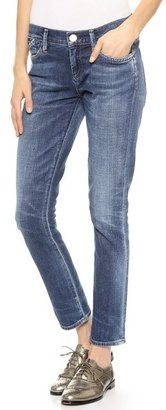 Gold Sign Frontier Straight Leg Ankle Jeans