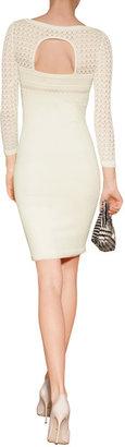 Catherine Malandrino Knit Sheer Top Sheath