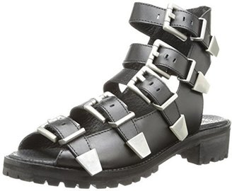 Bronx Women's Ultra Fast Gladiator Sandal $119 thestylecure.com