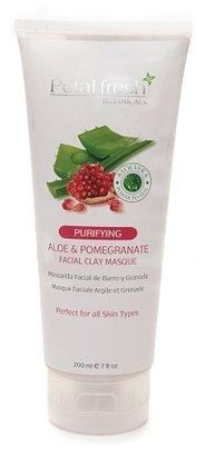 Alöe Petal Fresh Botanicals Facial Clay Masque & Pomegranate