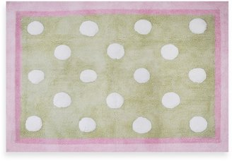 My Baby Sam Pixie Baby Rug in Pink/Green