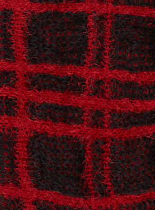 Dorothy Perkins Black and red check snood