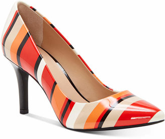 INC International Concepts Inc Women Zitah Pointed Toe Pumps, Women Shoes