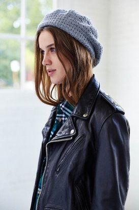 Urban Outfitters Textured Double-Layered Beret