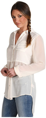 Free People Best of Both Worlds Button Up