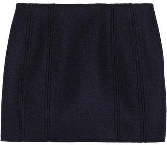 Maison Martin Margiela Wool-blend mini skirt