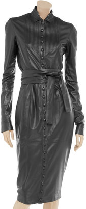 L'Wren Scott Nappa leather dress