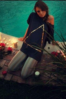 Wildfox Couture Triangle Unisex Tee in Indigo