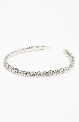 Tasha 'Bad Mamajama' Headband Silver Crystal