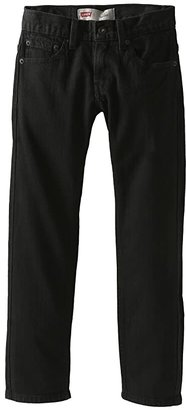 Levi's Kids 511tm Slim Jeans (Big Kids) (Black Stretch) Boy's Jeans