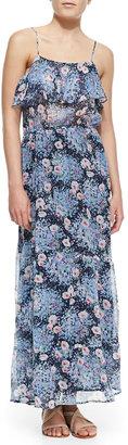Joie Rominette Floral-Print Silk Maxi Dress