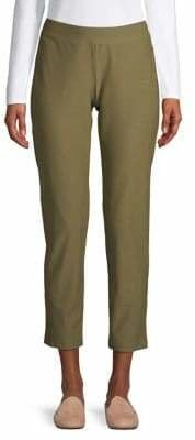 Eileen Fisher Slim-Leg Cropped Pants