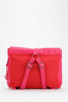 Urban Outfitters Cooperative Flap-Front Square Backpack